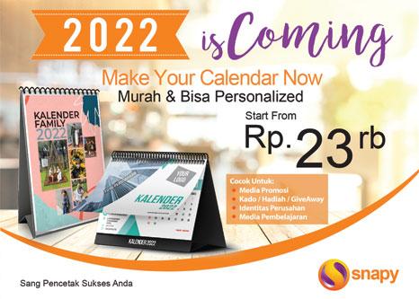 Promo Kalender 2022 Serentak di Snapy